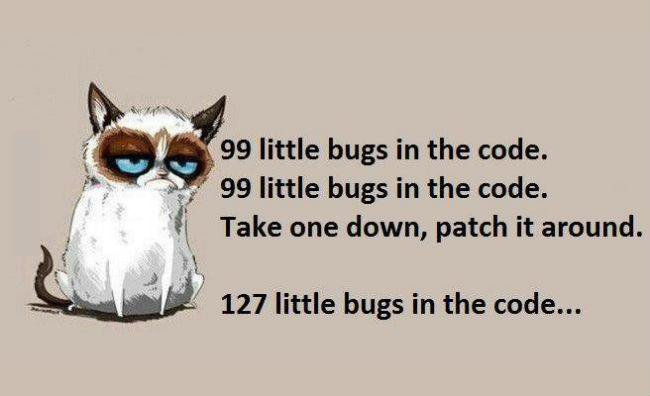 99 Bugs In The Code..